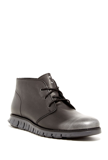 Incaltaminte Barbati Cole Haan Zerogrand Chukka Boot - Wide Width Available BLACK META