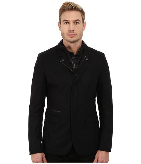 Imbracaminte Barbati Michael Kors Flannel Bib Blazer Black