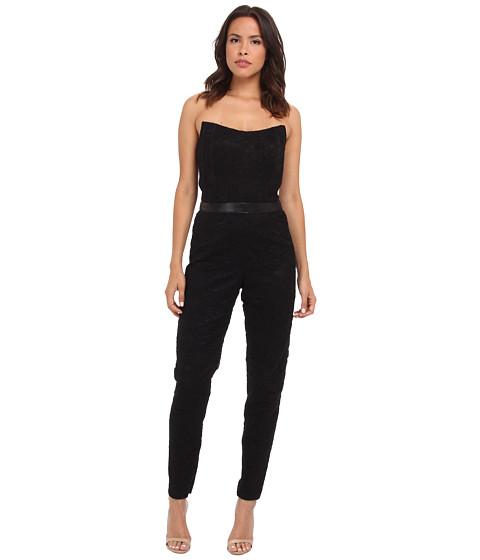 Imbracaminte Femei Nicole Miller Corded Lace Jumpsuit Black