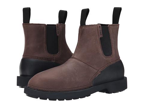 Incaltaminte Barbati Crocs Breck Boot EspressoBlack
