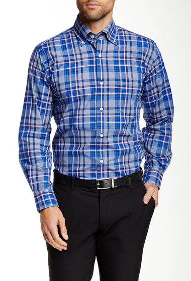 Imbracaminte Barbati TailorByrd Long Sleeve Woven Regular Fit Shirt MULTI