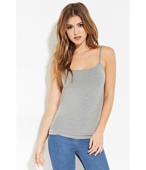 Imbracaminte Femei Forever21 Classic Knit Cami Heather grey