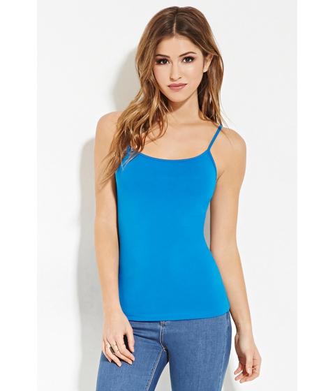 Imbracaminte Femei Forever21 Classic Knit Cami Imperial blue