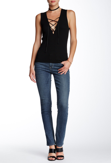 Imbracaminte Femei Level 99 Lily Skinny Straight Jean Meadow