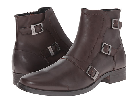 Incaltaminte Barbati Calvin Klein Stark Dark Brown Leather