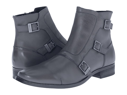 Incaltaminte Barbati Calvin Klein Stark Grey Leather