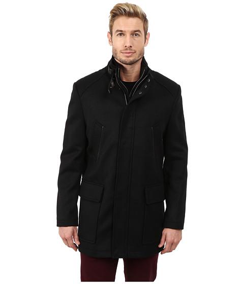 Imbracaminte Barbati Cole Haan Italian Twill Carcoat Black