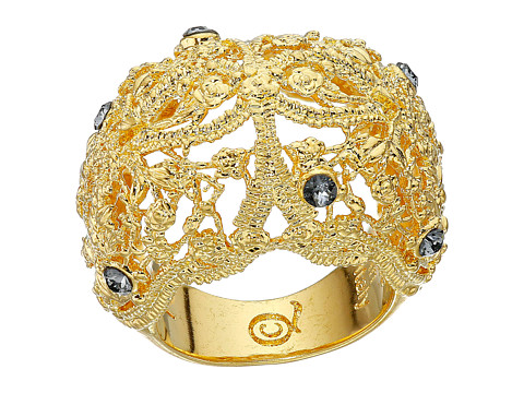 Bijuterii Femei Alexander McQueen Filigree Ring Crystal ShadeLight Topaz