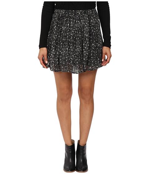 Imbracaminte Femei Lucky Brand Printed Mini Skirt Black Multi