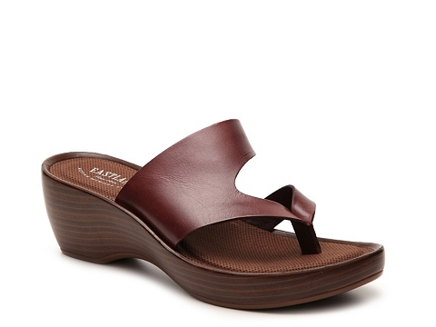 Incaltaminte Femei Eastland Laurel Wedge Sandal Mahogany