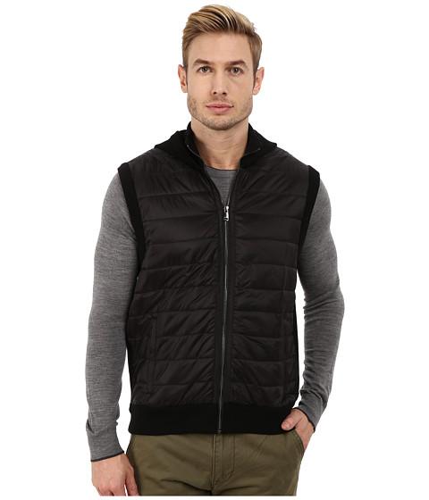 Imbracaminte Barbati Michael Kors Puffer Hooded Vest Black