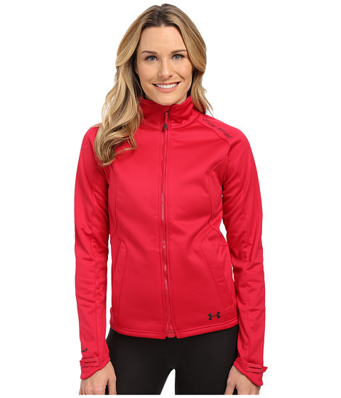 Imbracaminte Femei Under Armour UA Coldgear Infrared Softershell Jacket Fury