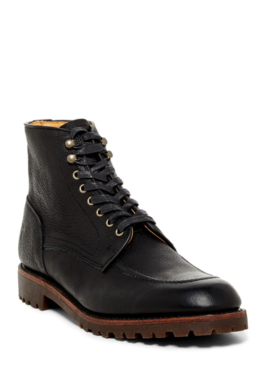 Incaltaminte Barbati Frye Walter Country Lace-Up Boot BLACK