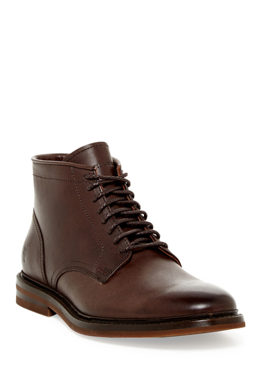 Incaltaminte Barbati Frye William Lace-Up Boot DARK BROWN