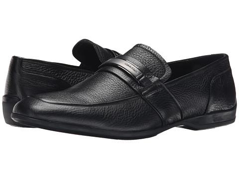 Incaltaminte Barbati Calvin Klein Varen Black Leather