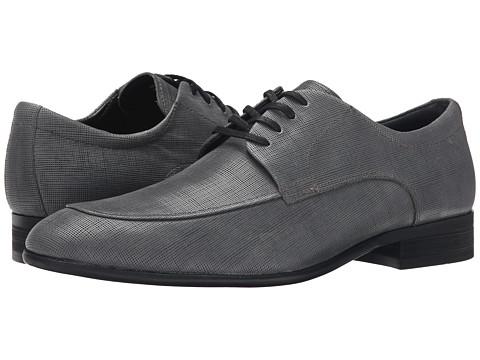 Incaltaminte Barbati Calvin Klein Valient Dark Grey Textured Leather