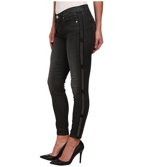 Imbracaminte Femei Hudson Luna Skinny Black Wash Jeans in Atlas Atlas