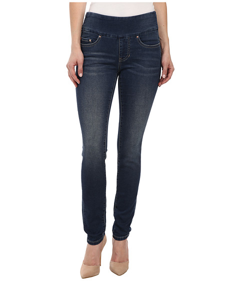 Imbracaminte Femei Jag Jeans Petite Nora Skinny Knit Denim in Forever Blue Forever Blue