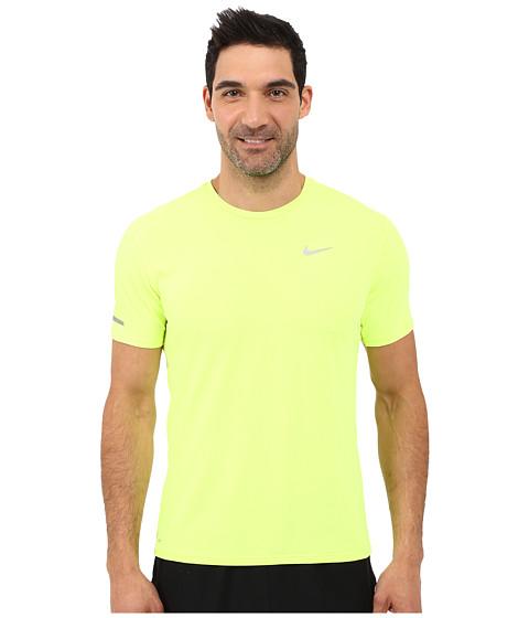 Imbracaminte Barbati Nike Dri-FITtrade Contour SS Running Shirt VoltReflective Silver