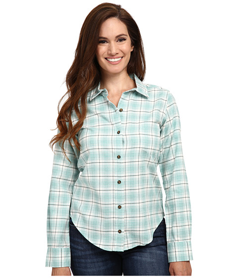 Imbracaminte Femei Pendleton Felicia Flannel Shirt AzureHeather Plaid