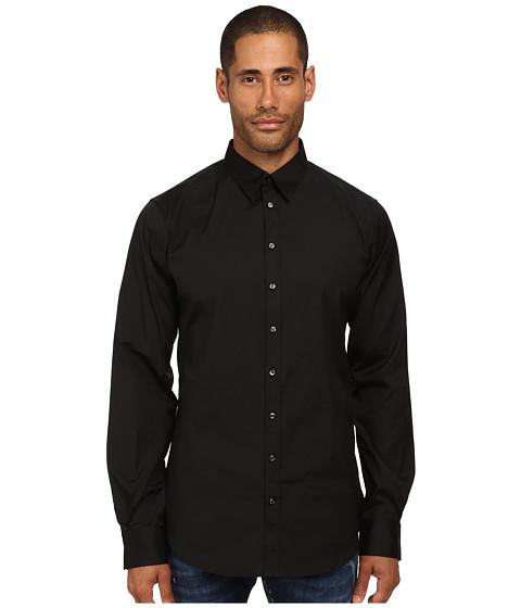 Imbracaminte Barbati DSQUARED2 Stretch Poplin Button Up Shirt Black