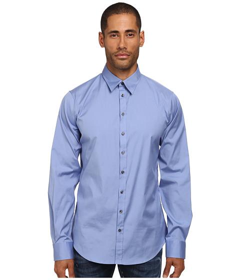 Imbracaminte Barbati DSQUARED2 Stretch Poplin Button Up Shirt Blue
