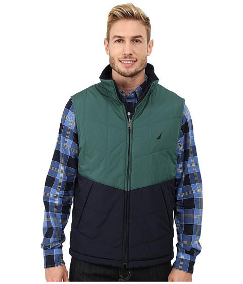 Imbracaminte Barbati Nautica Reversible Lightweight Vest Hunter Green