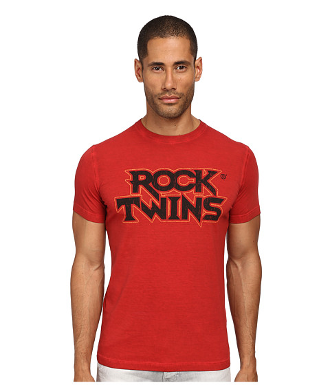 Imbracaminte Barbati DSQUARED2 Rock Twins Sexy Slim Fit Tee Red