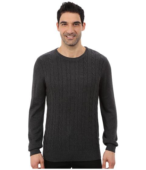 Imbracaminte Barbati Nautica 9 Gauge Solid Crew Neck Cable Sweater True Black
