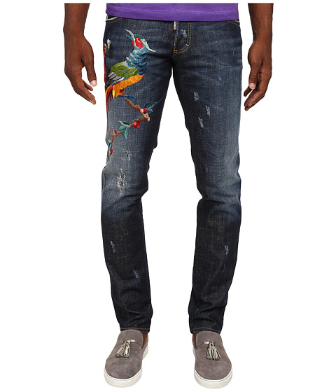 Imbracaminte Barbati DSQUARED2 Rookie Wash Slim Jeans Blue