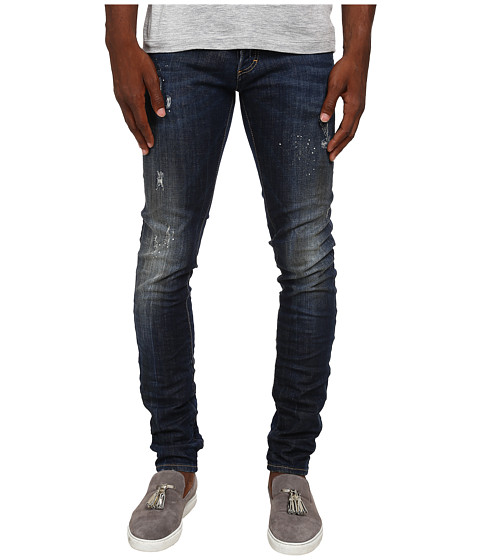Imbracaminte Barbati DSQUARED2 Midnight Thunder Slim Jeans Blue