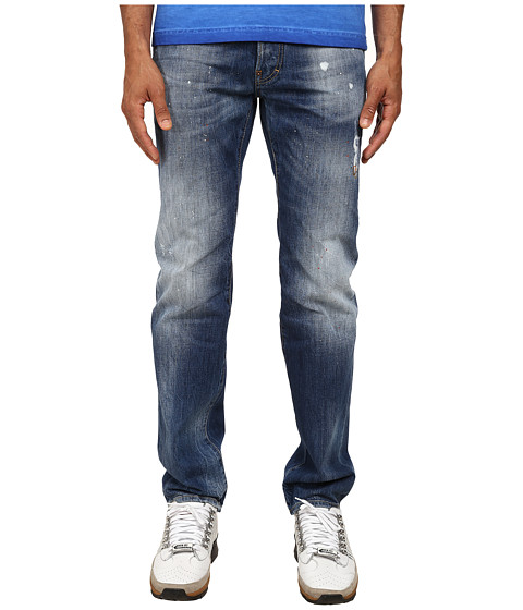 Imbracaminte Barbati DSQUARED2 Light Snow Balls Dean Jeans Blue