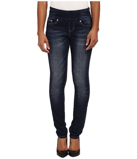 Imbracaminte Femei Jag Jeans Petite Nora Skinny in Blue Ridge Knit Denim Blue Ridge