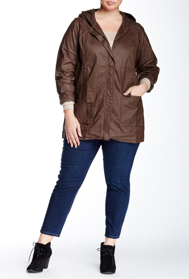 Imbracaminte Femei Eileen Fisher Coated Linen Anorak Plus Size RYE