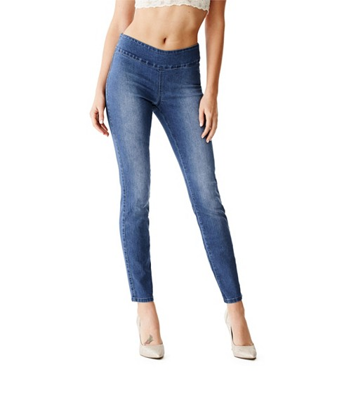 Imbracaminte Femei GUESS Maliah Jeggings medium wash