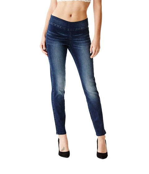 Imbracaminte Femei GUESS Maliah Jeggings dark wash
