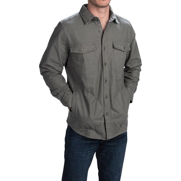 Imbracaminte Barbati Woolrich Tiadaghton Shirt Jacket FIELD GRAY (02)