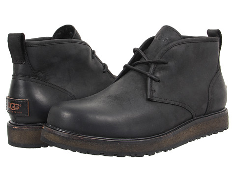 Incaltaminte Barbati UGG Calderwood Black Leather
