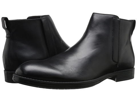 Incaltaminte Barbati Calvin Klein Hartley Black Leather