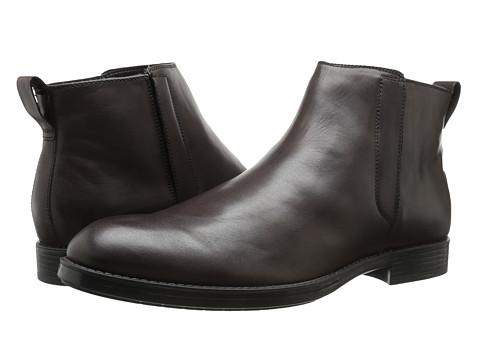 Incaltaminte Barbati Calvin Klein Hartley Dark Brown Leather