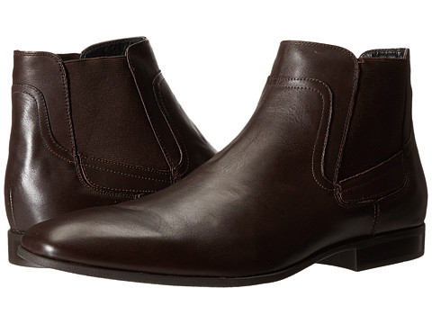 Incaltaminte Barbati Calvin Klein Clarke Dark Brown Leather
