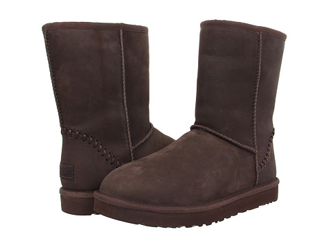 Incaltaminte Barbati UGG Classic Short Deco Stout Leather
