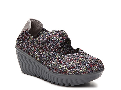 Incaltaminte Femei Bernie Mev Drake Multicolor Woven Wedge Slip-On Multicolor