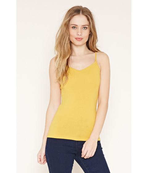 Imbracaminte Femei Forever21 V-Neck Cami Mustard