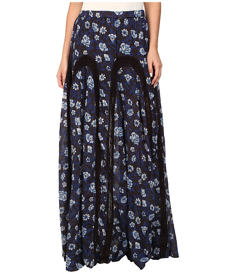 Imbracaminte Femei Free People Zoe Maxi Skirt Indigo Combo
