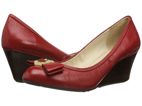 Incaltaminte Femei Cole Haan Tali Grand Bow Wedge 65 Tango Red Leather