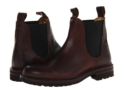 Incaltaminte Barbati Frye Freemont Chelsea Dark Brown Essex