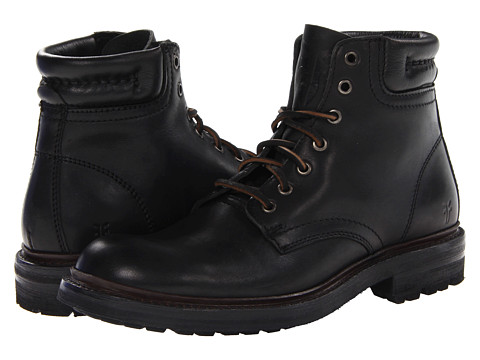 Incaltaminte Barbati Frye Freemont Lace Up Black Essex
