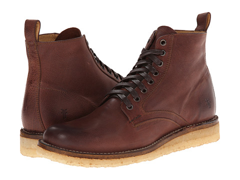 Incaltaminte Barbati Frye Phillip Crepe Lace Up Redwood Buffalo Nubuck