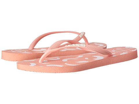 Incaltaminte Femei Havaianas Slim Swirl Flip Flops Light Pink